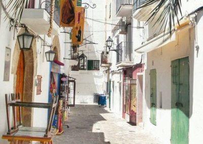 ibiza oude stad straatje